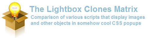 The Lightbox Clones Matrix