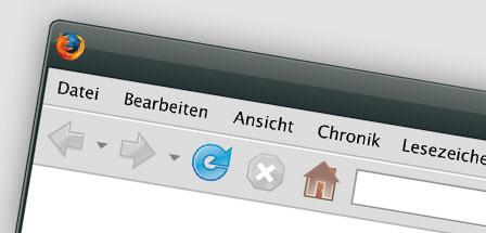 Firefox Browserfenster als Vektor