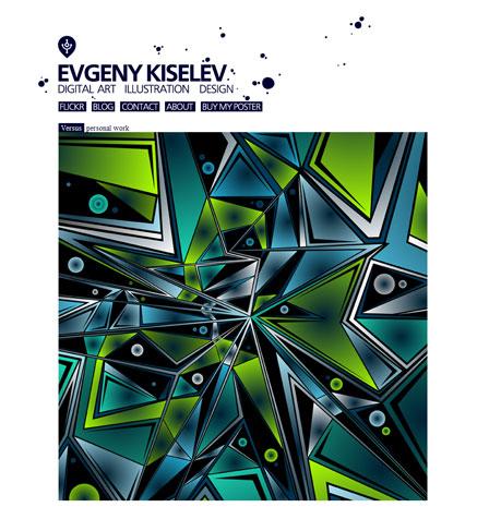 Arbeiten von Evgeny Kiselev