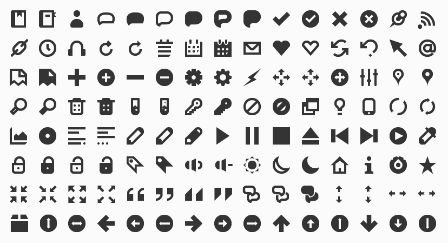 Iconic Icon Set